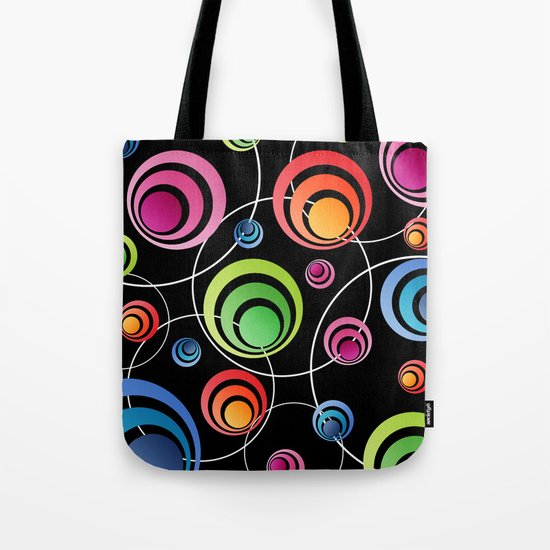 Circles In Circles. Tote Bag