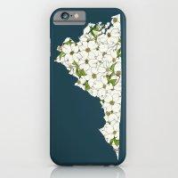 Virginia in Flowers iPhone 6 Slim Case