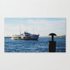 Ferries of Istanbul #1 Canvas Print