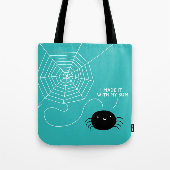 Spiders Have all the Fun Tote Bag