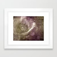 frosty eve Framed Art Print