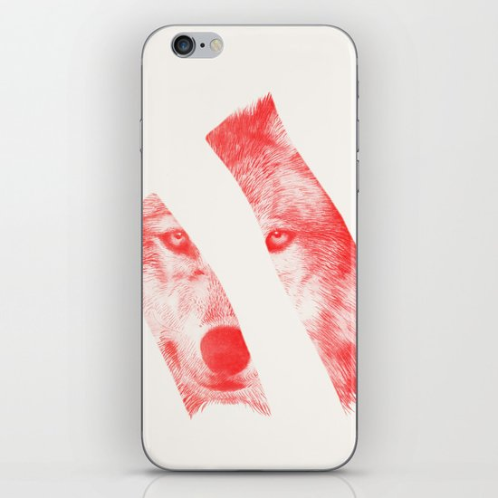 Red by Eric Fan & Garima Dhawan iPhone & iPod Skin
