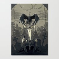 Dark Times Canvas Print