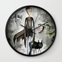 'Arry Potta Wall Clock