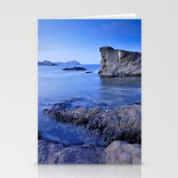 Volcanic reef Stationery Cards