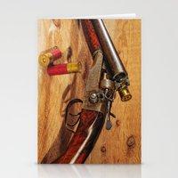 Old Double Barrel Steven… Stationery Cards
