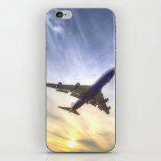 Boeing 747 Sunset  iPhone & iPod Skin