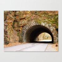 Mountain Tunnel in Tennessee Canvas Print