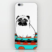 Fresh Sketch - Pug On A … iPhone & iPod Skin