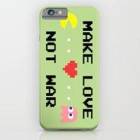Make Love Not War iPhone 6 Slim Case
