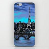 Eiffel Tower ~ Paris Fra… iPhone & iPod Skin