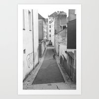 Which Way Art Print