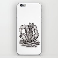 Mix - creature - Troll Devil and Golem Gargoyle iPhone & iPod Skin