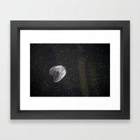 Jellystar Galactica Framed Art Print