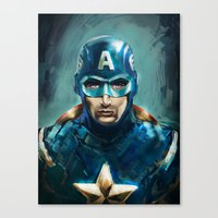 The Patriot Canvas Print