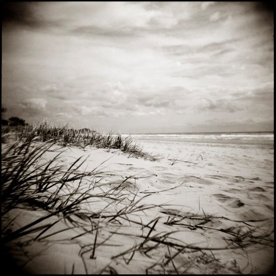 { sand, surf, sun } Canvas Print