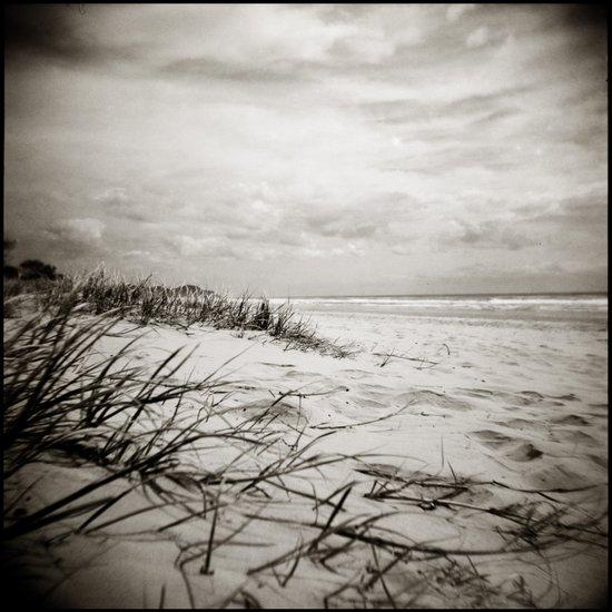 { sand, surf, sun } Art Print