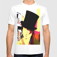 Cotton Club Topper Mens Fitted Tee White SMALL