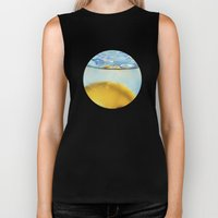 Refreshing Lemon Drink Biker Tank