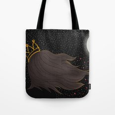 The Queen and the Moon Tote Bag