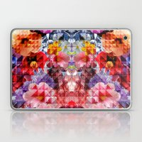 Crystal Floral Laptop & iPad Skin