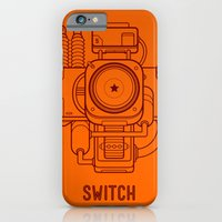 iPhone & iPod Case featuring Switch by flisterz