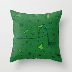 Hold Music Throw Pillow
