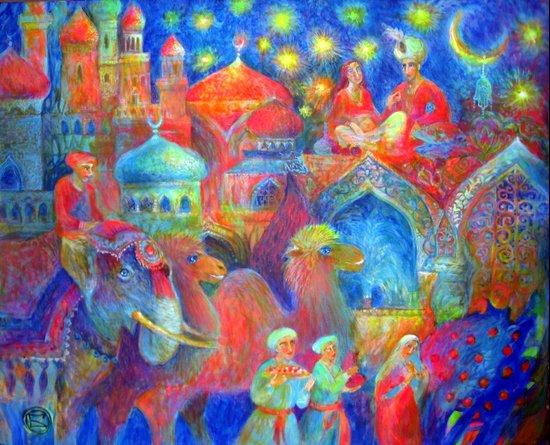1001 night Art Print