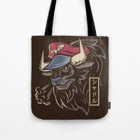 Master Bison Tote Bag