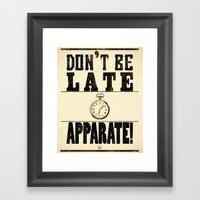 Apparate! Framed Art Print
