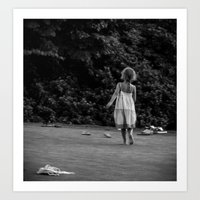 In Her Own Little World Art Print