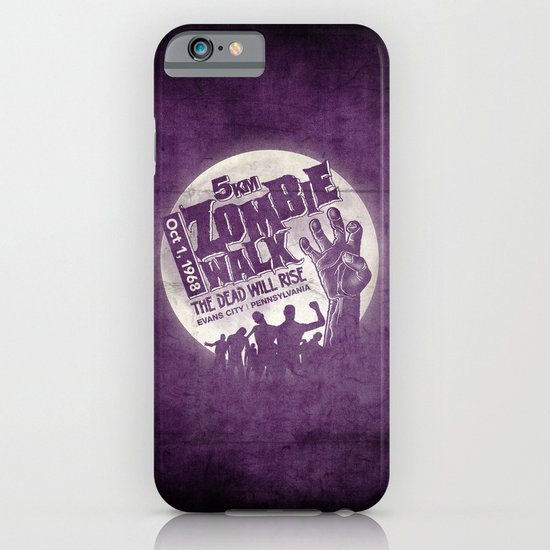 Zombie Walk iPhone & iPod Case