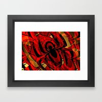 SPYDER. Framed Art Print