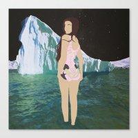 Glacial Pace Canvas Print