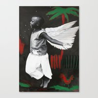 Florence in Flight Canvas Print