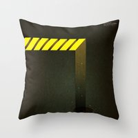 Asphalt: Facebook Shapes… Throw Pillow