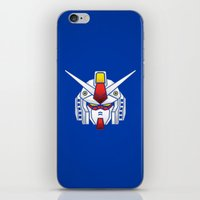 Mobile Suit in Disguise iPhone & iPod Skin