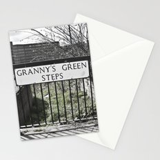 Granny's Green Steps Stationery Cards