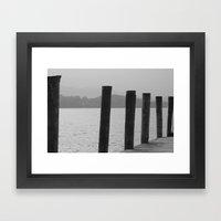 Lake Windermere Lake Dis… Framed Art Print