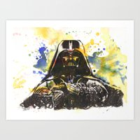 Darth Vader Star Wars Ar… Art Print