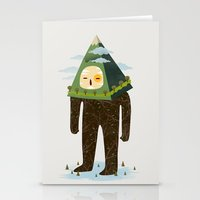 The Man Mountain Stationery Cards