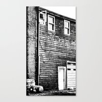 The Lines of Things Canvas Print