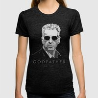 The Godfather - Part Three Womens Fitted Tee Tri-Black SMALL