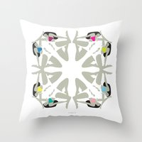 Weekend Girls Repeat Ill… Throw Pillow
