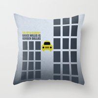 Luc Besson The Fifth Ele… Throw Pillow