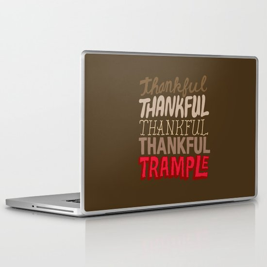 Thanksgiving, Black Friday Laptop & iPad Skin