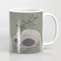 Skull Garden Mug