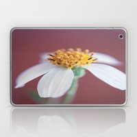 Small White Daisy 1 Laptop & iPad Skin