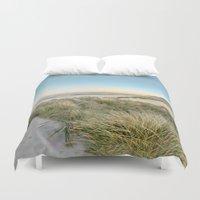 Oregon Coast Sunrise Duvet Cover