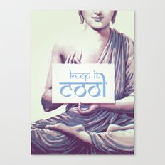 Keep it cool Canvas Print